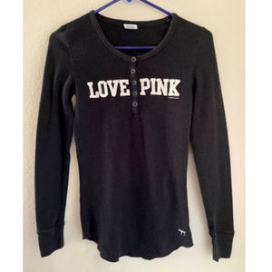 PINK Victoria's Secret black top